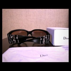 Dior Swarovski Crystal Embellished Sunglasses